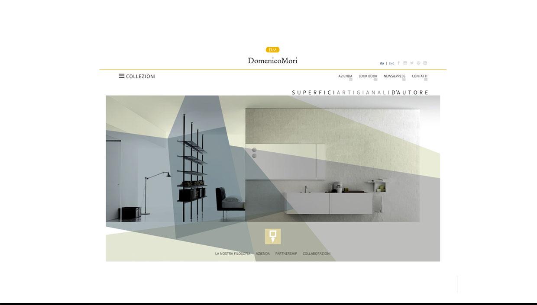 home page Domenico Mori